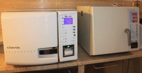 Lo studio possiede numerosi macchinari per diagnosi accurate