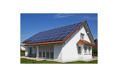 pannelli fotovoltaici montati