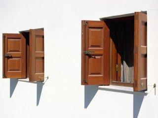 finestre in legno su misura