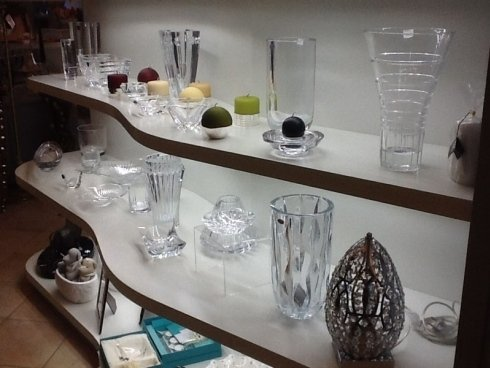 vasi di cristallo