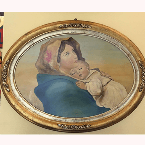 capezzali madonna con bambino