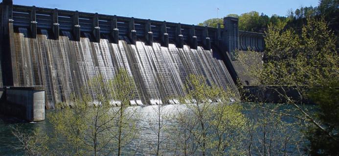 Norfork dam in Mountain Home, AR