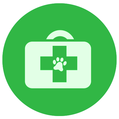Icon of a first-aid-kit for pets