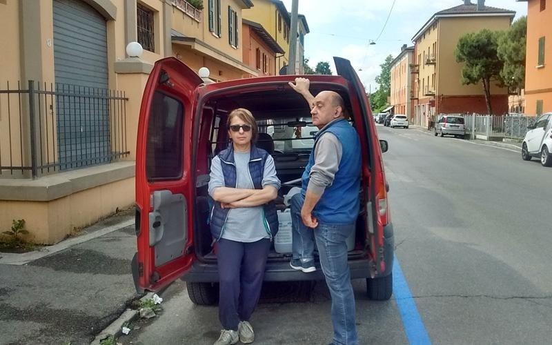 I titolari impresa di pulizie Bonazza Francesca