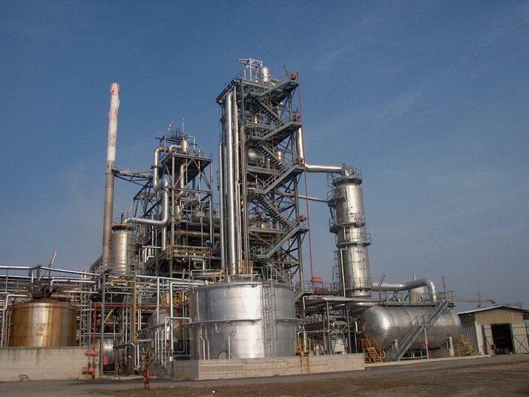 impianti chimici per industria