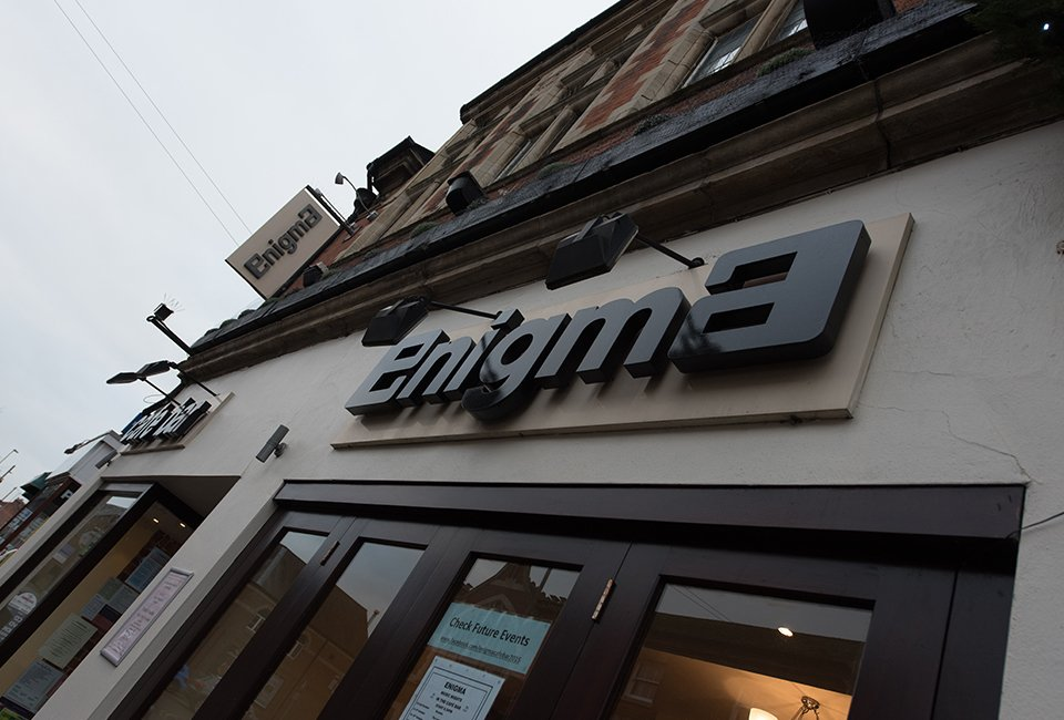 Enigma Cafe in Market Harborough
