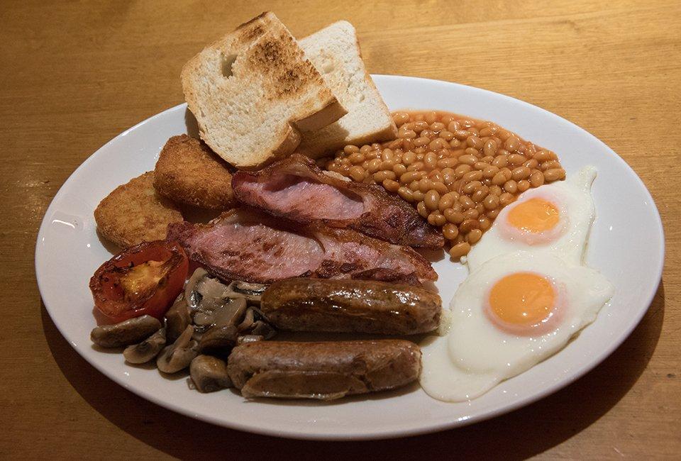 Delicious food at Enigma Cafe in Market Harborough