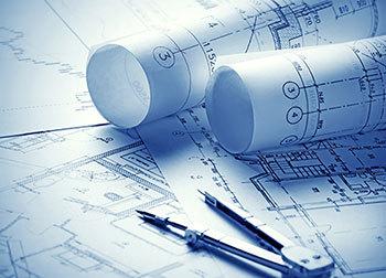Blueprint of affordable home in Platteville