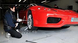 sostituzione ruote, vendita cerchi, riparazioni auto