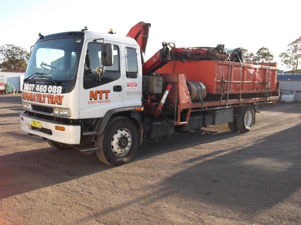 Scrap Metal Recycling Nowra Tilt Tray Amp Crane Truck Hire