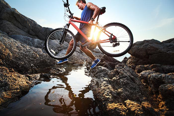 Mountain biking in Mt Ruapehu
