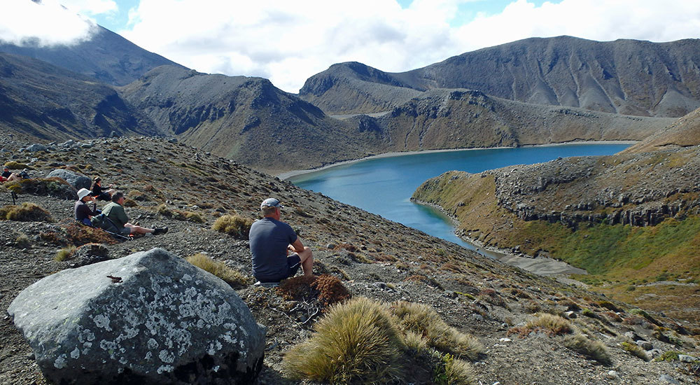 Scenery in Ruapehu