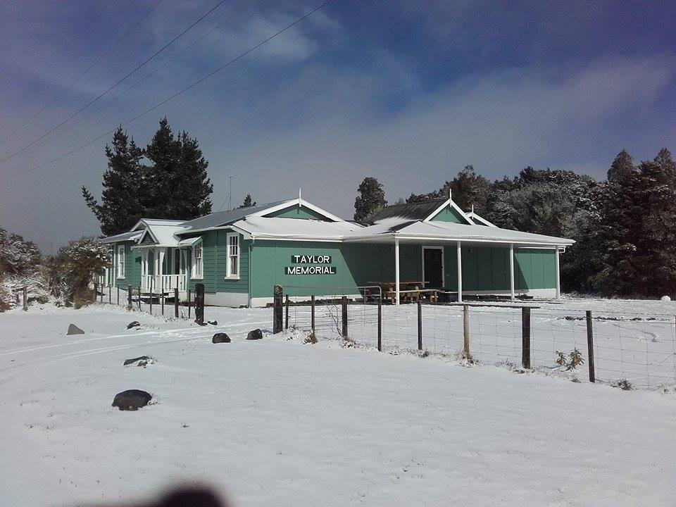Camping youth lodge in Mt Ruapehu
