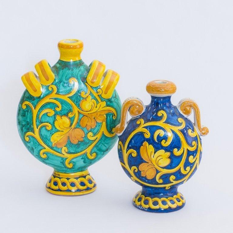 vaso in ceramica arancio