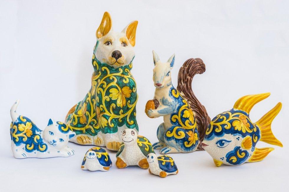 Animaletti in ceramica