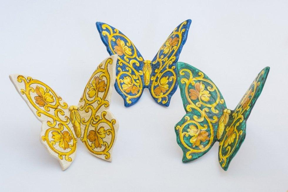 Farfalle decoro barocco palermo