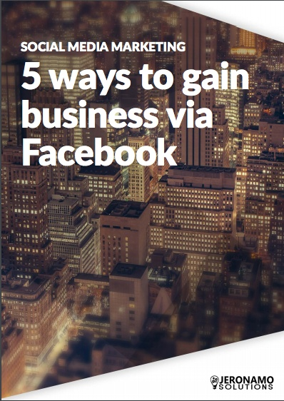 5 ways to gain business via Facebook