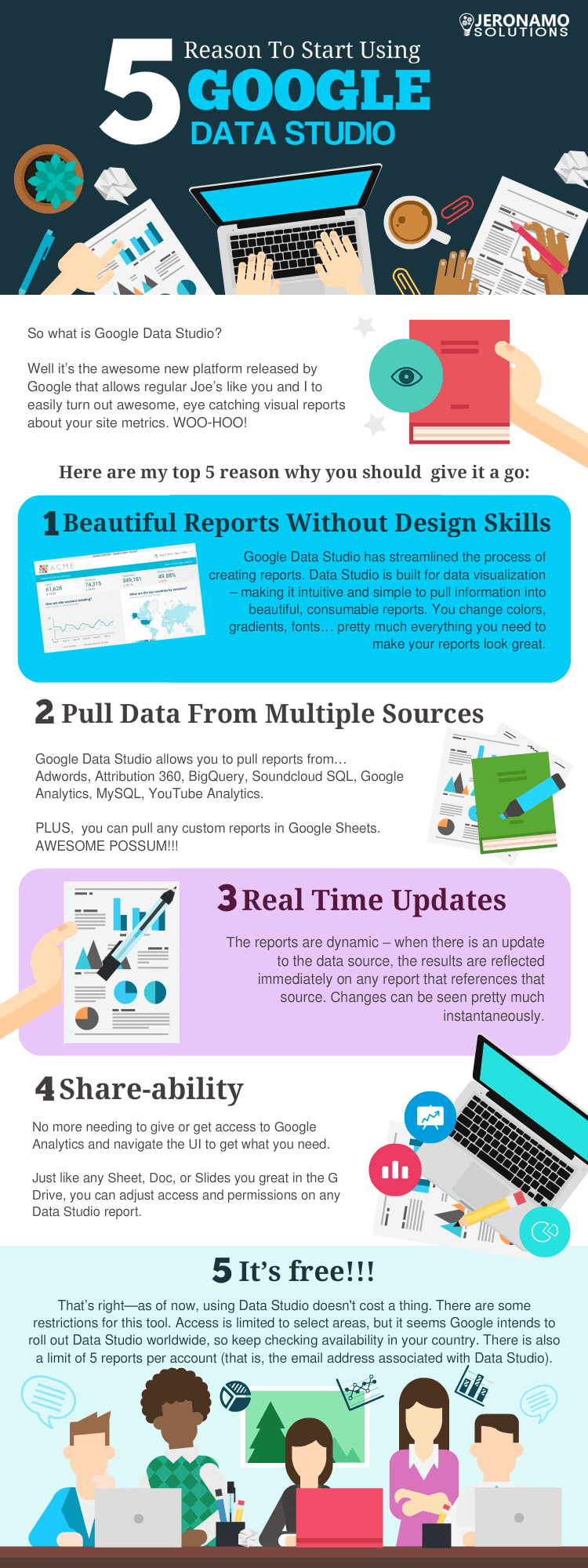 5 reasons to start using google data studio