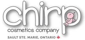 chirp cosmetics- content marketing client