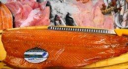 pesce d'allevamento,   SALMONE AFFUMICATO , SALMONE NORVEGESE SOSTENIBILE