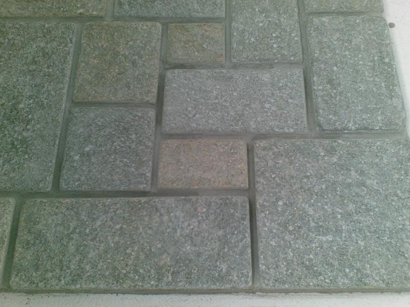 Aged Scottish style tiles