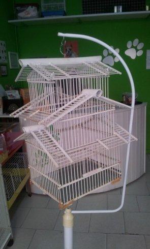 Gabbiette per animali e uccellini