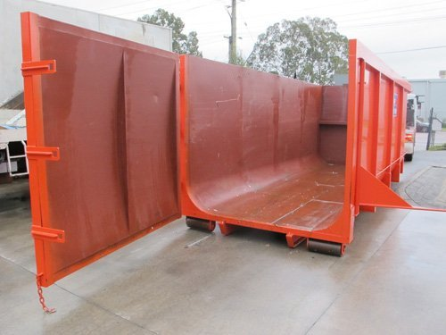 Open skip for residential waste management in Perth