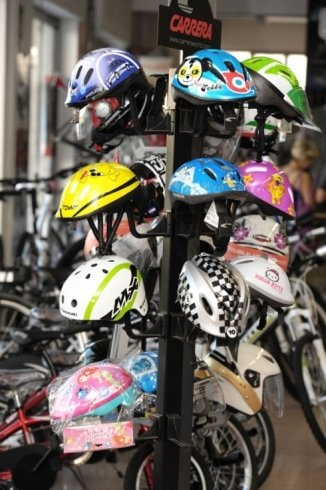 Caschi protettivi per ciclisti