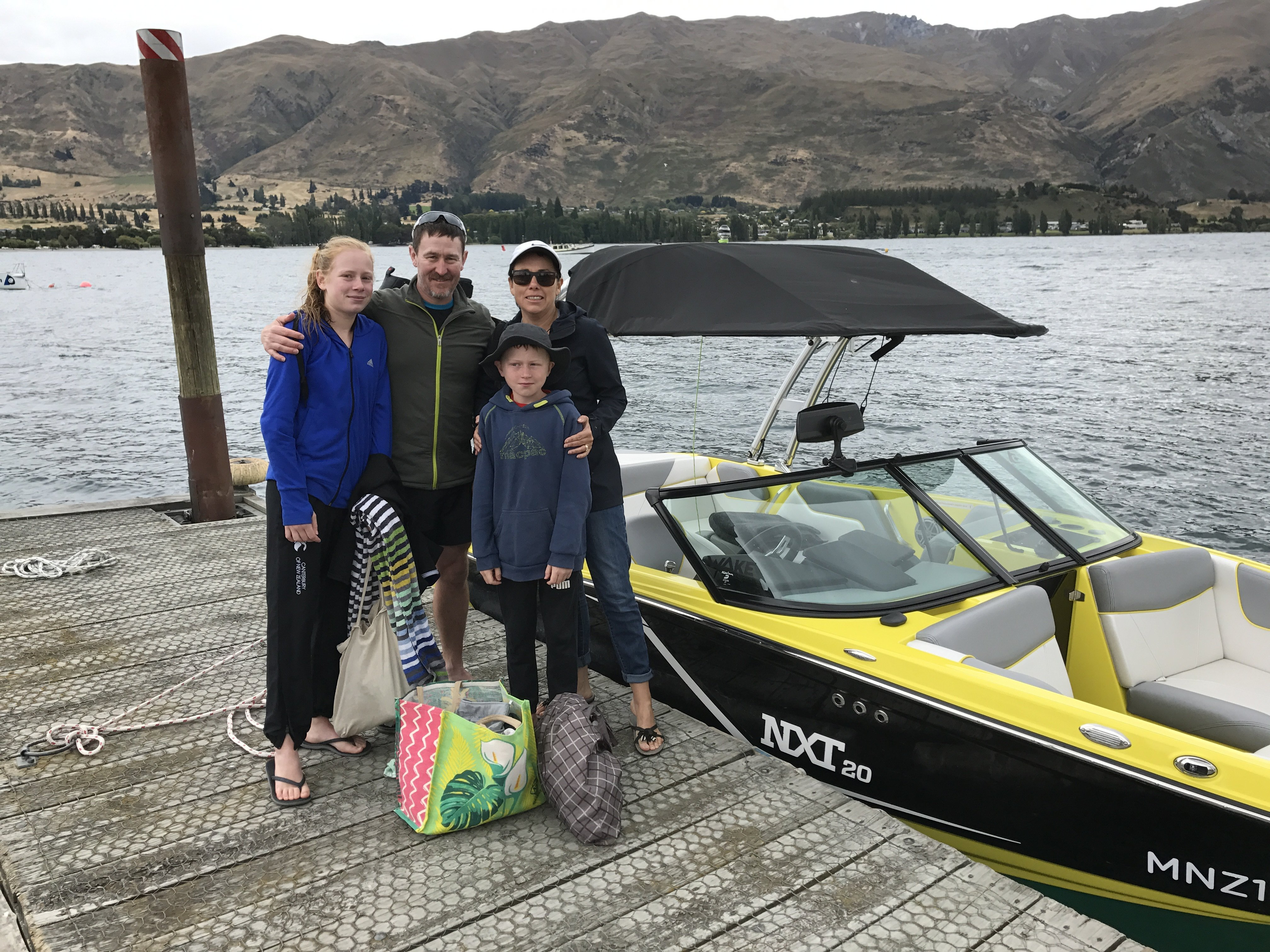 Family boating adventures on Lake Wanaka
