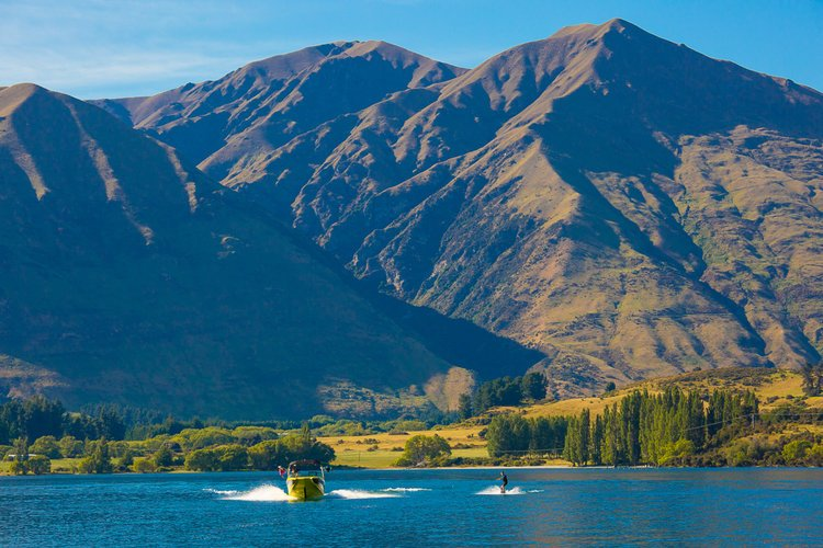 Alpine wakeboarding at its best