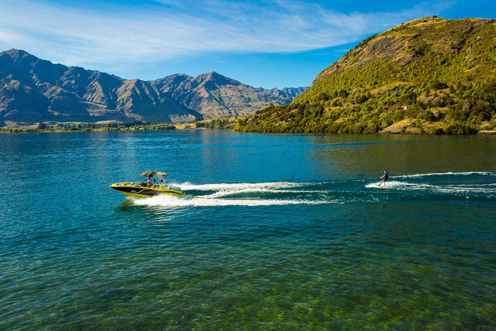 The beauty of boating on Lake Wanaka