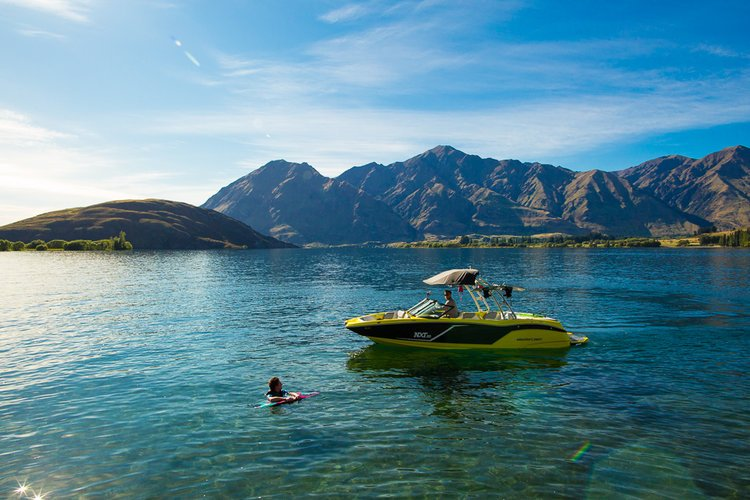 Relax in and on Lake Wanaka