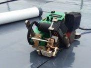 Roof installation equipment
