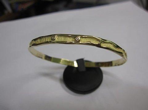 braccialetto in oro giallo
