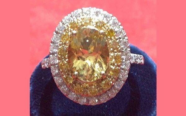 rif. A146 - anello con danburite