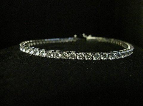 braccialetto con brillanti