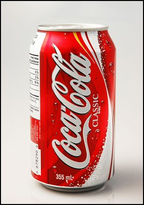 Cola and soft drinks supplied in cans and bottles to suit