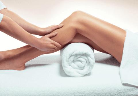 Trattamento rinfrescante gambe