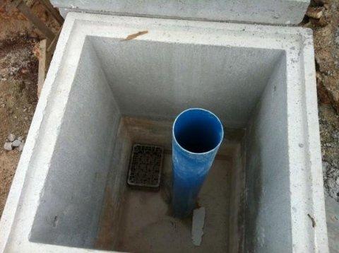 fori per drenaggio acque piovane