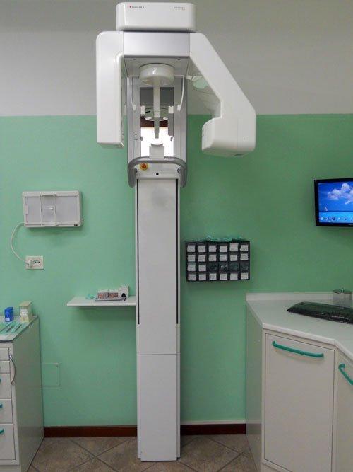 dispositivo medico nell'ambulatorio dentistico