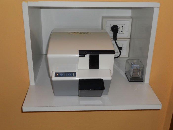 stampante dello studio dentistico