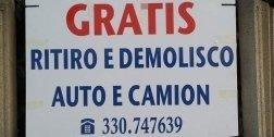 autodemolizione, demolizione auto, demolizione moto
