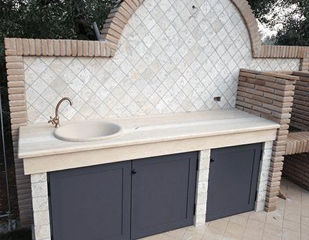 Bagni e cucine in marmo - Fondi - Latina - Centro marmi Pannozzo srl