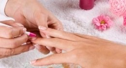 manicure curativa