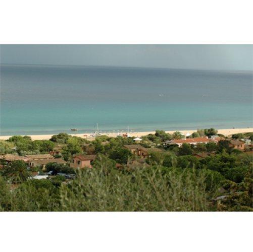 spiaggia dall`alto