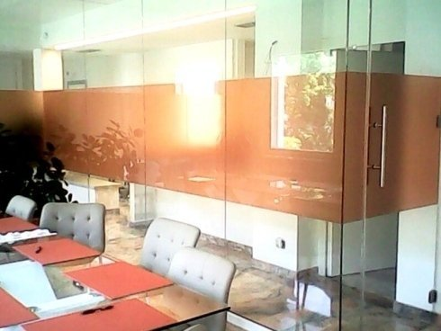 pareti divisorie in vetro per ufficio
