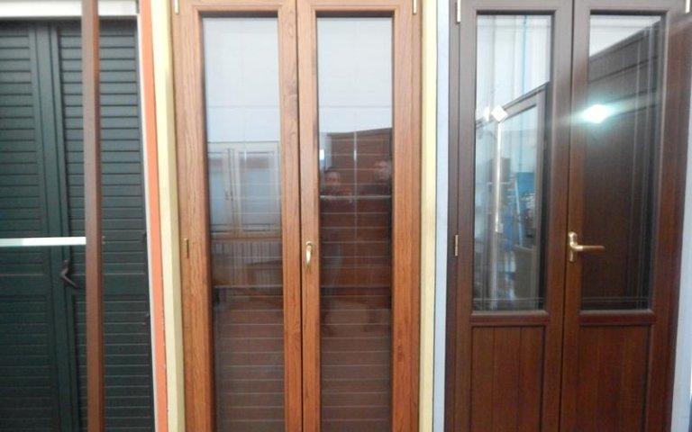 porte legno e vetro