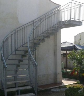 scale e ringhiere perimetrali