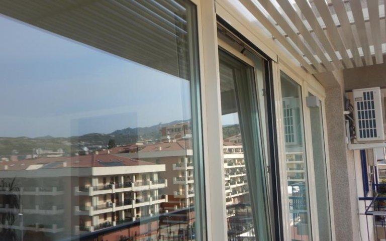 porta finestra per veranda