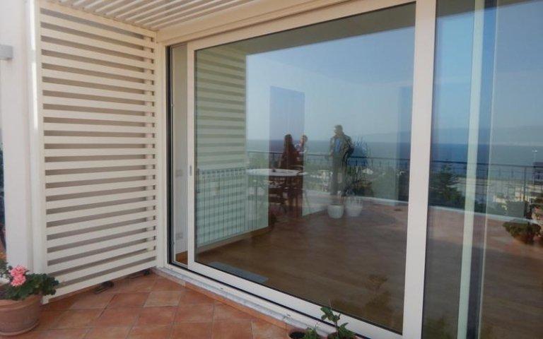 porta finestra vetri doppi
